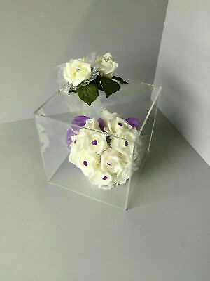 Display cubes 5 Sided open 1 end 200mm