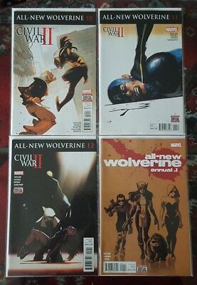 All-New Wolverine comic lot