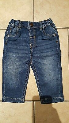 Baby Boys Next 6-9 Month Blue Jeans