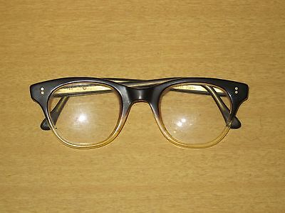 Vintage 1950's Metzler 140 Germany Eye Safety Work Glasses Retro Wayfarer Frame