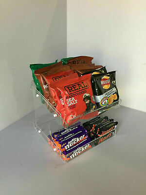 Counter display 2 Tiers flat packed ( Perfect for impulse buys )