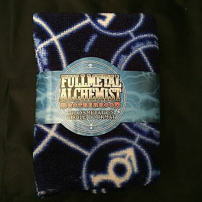 LOOT ANIME Crate Fullmetal Alchemist Brotherhood Transmutation Door Mat Rug
