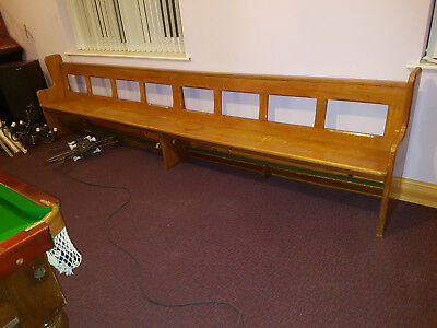 Genuine hardwood Church Pews 11ft 9""