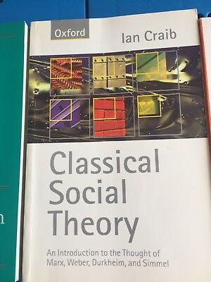 Classical Social Theory Textbook: an introduction to the thought of Marx et al