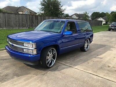 1993 Chevrolet Tahoe Blue chevy tahoe 832-797-4546