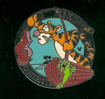 WDW Cast Lanyard Series 4 Tigger Activities Fishing Disney Pin 41788