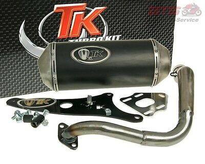 exhaust Turbo Kit GMax 4T E-marked for Honda Lead 100 (-07)