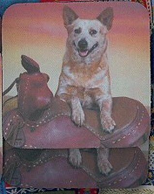 AUSTRALIAN CATTLE DOG Rubber Backed Coasters #0952