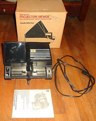 Vintage Sawyer's 2 In 1 Projector Viewer TESTED