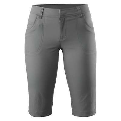 Kathmandu Asante Womens Quick Drying Longer Length Travel Shorts v2 Grey