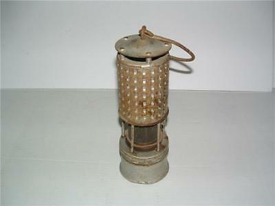 Antique Permissable Miners Safety Lamp Stamped Bureau Of Mines Koehler