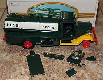 TOY The First Hess Truck MCML XXX 1982 Red Switch PARTS ONLY