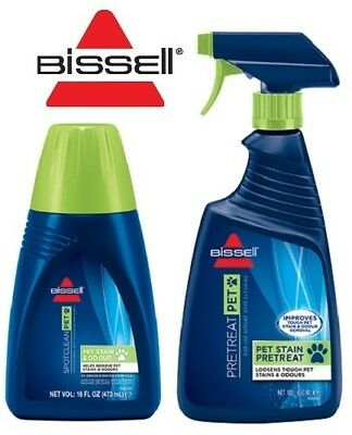 Bissell Pet Kit PreTreat Pet & Pet Stain & Odour Formula Carpet Cleaning Shampoo