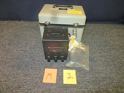 Jfc Electronics Ohmmeter Zm-21D Am / Psm-43 Military Surplus Vintage Nos New