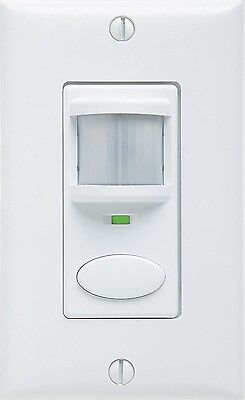 Electrical - Switch -Acuity Motion Detector Switch White Decorator