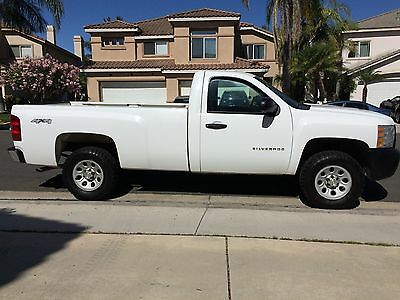 2010 Chevrolet Silverado 1500  2010 Chevrolet Silverado 1500 Pickup Work Truck, Low Mile, By Owner