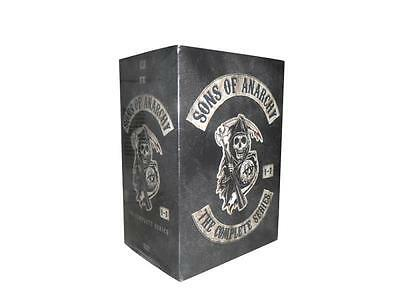 Sons of Anarchy: The Complete Series Seasons 1-7 (DVD, 2015) 1 2 3 4 5 6 7
