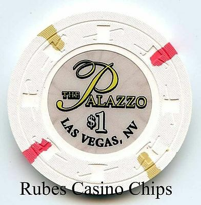 1.00 Chip from the Palazzo Casino in Las Vegas Nevada Small Inlay