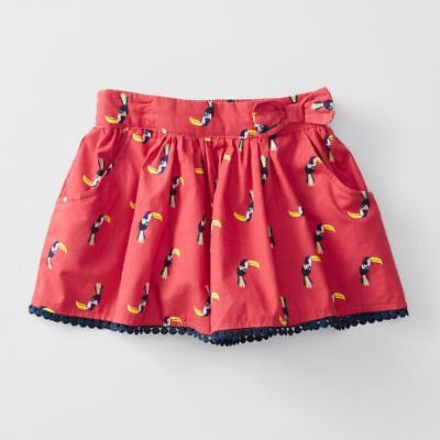 NEW Pull On Bow Trim Print Skorts Kids