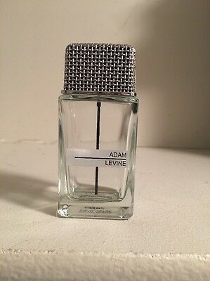 adam levine cologne empty bottle Perfume