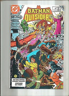 Batman And The Outsiders #5  New Teen Titans  Dc  1983 Nice!!!