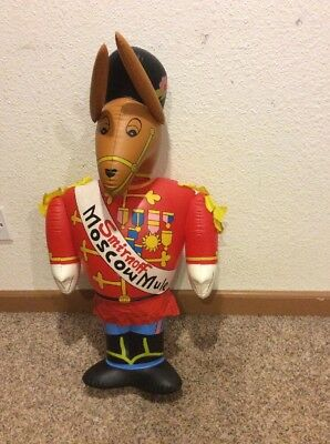 1970's SMIRNOFF 7-UP MOSCOW MULE INFLATABLE ADVERTISING FIGURE EXTREMELY RARE!!!