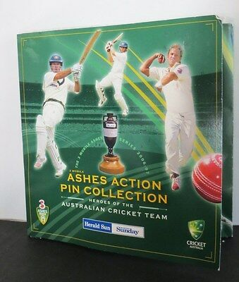 Ashes Action Pin Collection 2006-2007. In Original Folder