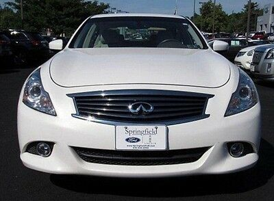 2013 Infiniti G37  CLEAN 2013 INFINITI G37 White 4dr AWD Loaded