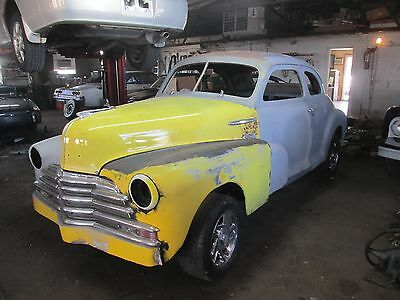 1948 Chevrolet COUPE COUPE 1948 CHEVY COUPE NICE SOLID CAR NO RESERVE 37 38 39 40 41 47 48 49 50 51 52 53