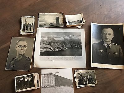 Lot of VTG WW2 WWII Photos c. 1940's - Planes, Aircraft, and Soldiers (L10-G3)