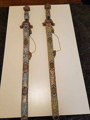 Antique swords from estate of a friend.  I would say they are decorative chinese