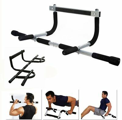 Pull Up Bar Exercice Fitness Maison Gym Menton Ups Sit Ups Porte Barre NEW RC