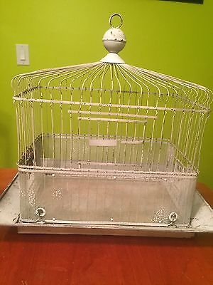 vintage hendryx bird cage Steampunk Repurpose
