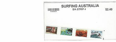 Australian Decimal Stamps: 2013 Surfing Australia- strip of 4-  MNH