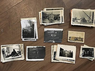 Lot of VTG WW2 WWII Photos c. 1940's - Pin Up Nose Art Planes (L11-G9)