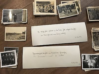 Lot of VTG WW2 WWII Photos c. 1930's & 1940's - Pin Up Nose Art Planes (L12-G7)