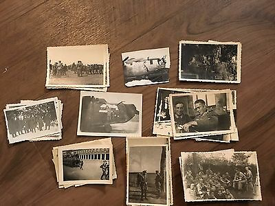 Lot of VTG WW2 WWII Photos c. 1940's - Pin Up Nose Art Planes (L12-G8)