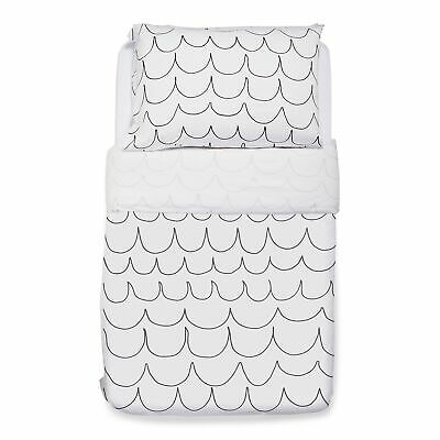 Snuz Snuzkot Designz Baby / Child / Kids Duvet & Pillowcase Set - Wave Mono