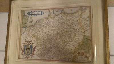 Germania carta antica 1500