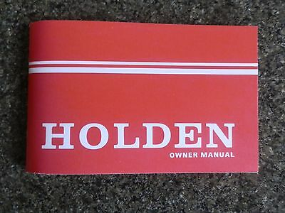 Holden Hq Owners Manual.   100% Guarantee.