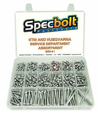 Specbolt Ktm Euro Husqvarna Flange Bolt Kit Service Department Master Set