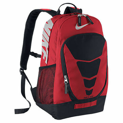 Nike Max Air Vapor Energy Backpack School Laptop Bag Red Black BA4883-605