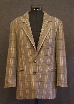 COUNTRY ROAD Vintage Wool Blazer Coat Jacket - Size 14