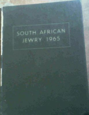 Feldberg, Leon .. South African Jewry 1965; A Survey of the Jewish Community