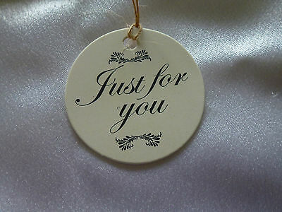 10 Favour Gift Swing Tags Wedding Baby Christening Birthday Parties free twine