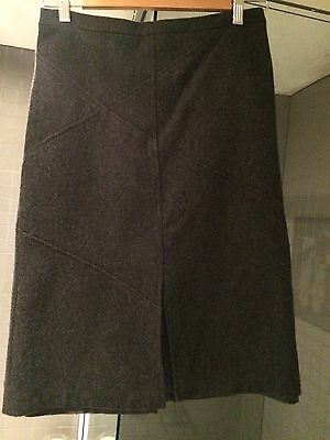 Witchery Grey Wool Skirt Size 8