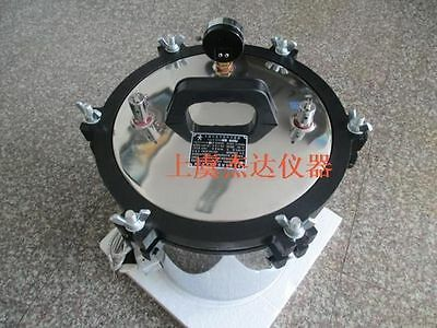 Portable Electric Autoclave, High Pressure Sterilizer Autoclave 8L