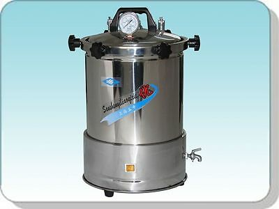 24L Auto-controlled Sterilization Autoclave, High Pressure Steam Sterilizer