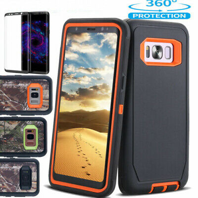 Samsung Galaxy S9 S8 S8 Plus Case Shockproof Heavy Duty Rubber Tough Armor Cover