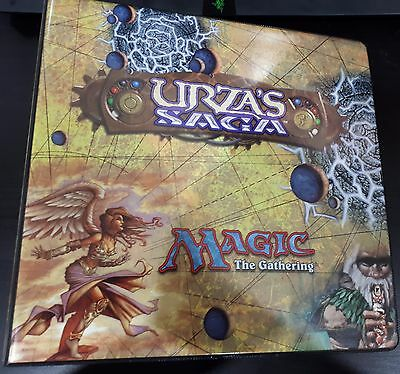 Magic the gathering Urza's Saga 3 Ring Binder